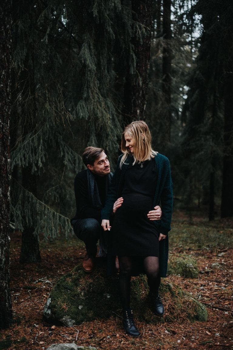 gravidfoto uppland