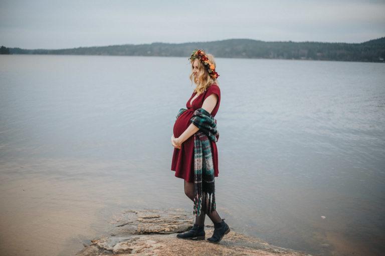 gravidfotografering, alingsås, gravid Alingsås, porträttfotograf, scotish vibe pregnanvy shoot